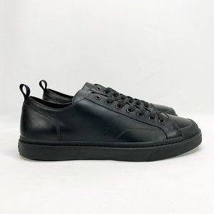 COACH C114 Lo Top Sneaker Black 11.5 Mens Leather